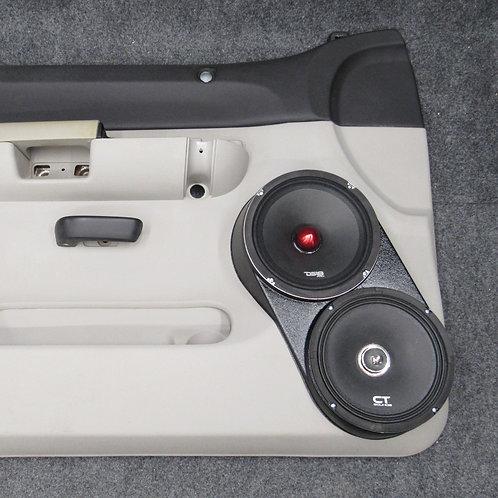 flangeless speaker pods for silverado lt sierra sle dual 8