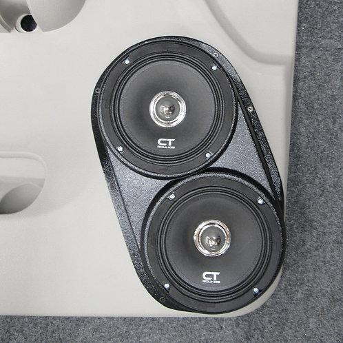 07-09 GMFST LT Front Speaker Pods for Dual 6.5 MK2