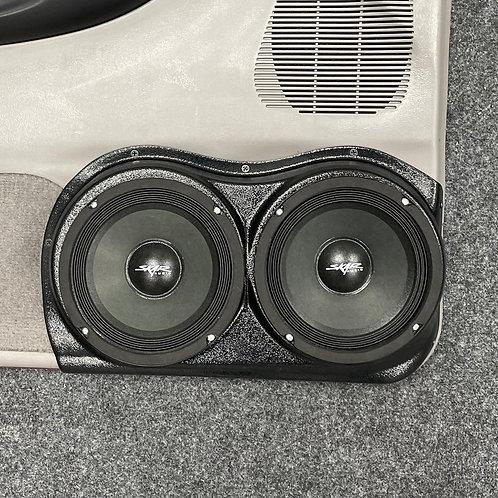 """Dual 6.5"""" Custom Speaker Pods, 1998-2012 Ford Ranger Audio System, Stereo Upgrade"""