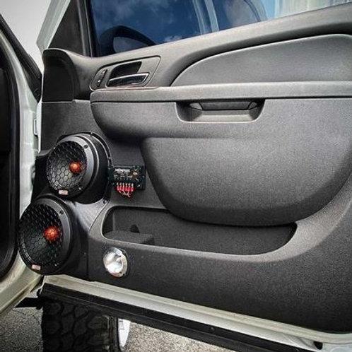 speaker pods chevy tahoe silverado escalade suburban stereo installation accessory