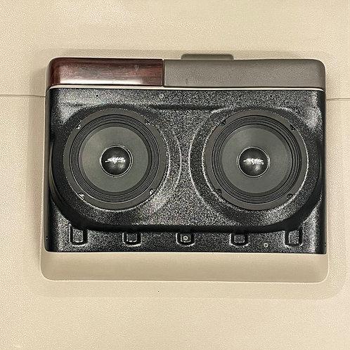 """Dual 6-1/2"""" for Rear Door 08-16 Super Duty Truck Crew Cab Speaker Pods"""