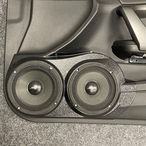 "2008-2012 Honda Accord Coupe, Dual 6.5"" Front Door Pods,"