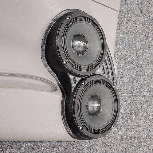 """Dual 8"""" Front Door Speaker Pods 02-09 Trailblaze"""