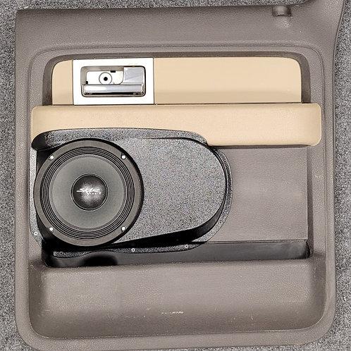"""09-14 F150 Crew Cab Rear Door Speaker Pods for 8"""""""