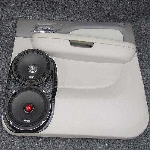 dual 8 speaker pods rear door silverado ltz tahoe yukon suburban