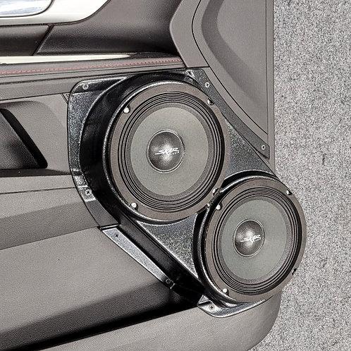 """Dual 6.5"""" Front Door Speaker Pods 2010-2017 Terrain Equinox"""