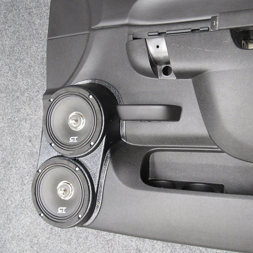 10-13 silverado sierra LT SLE front door speaker pods for stereo upgrade installation