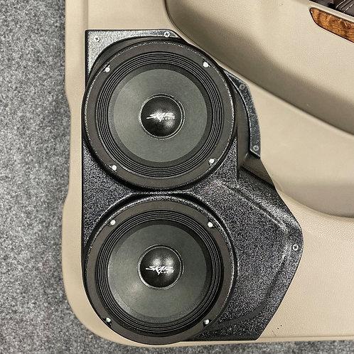 "GM Rear Door Dual 6.5"" Speaker Pods, Audio Upgrade, Aftermarket Stereo System"