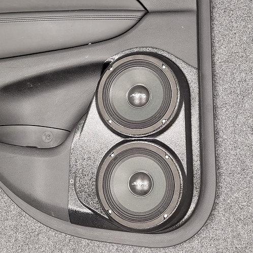 """Dual 6.5"""" Rear Door Speaker Pods 11-20 Grand Cherokee Durango"""