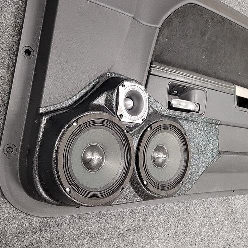 08-14 Dodge Challenger Front Door Speaker Pod 6-6-3