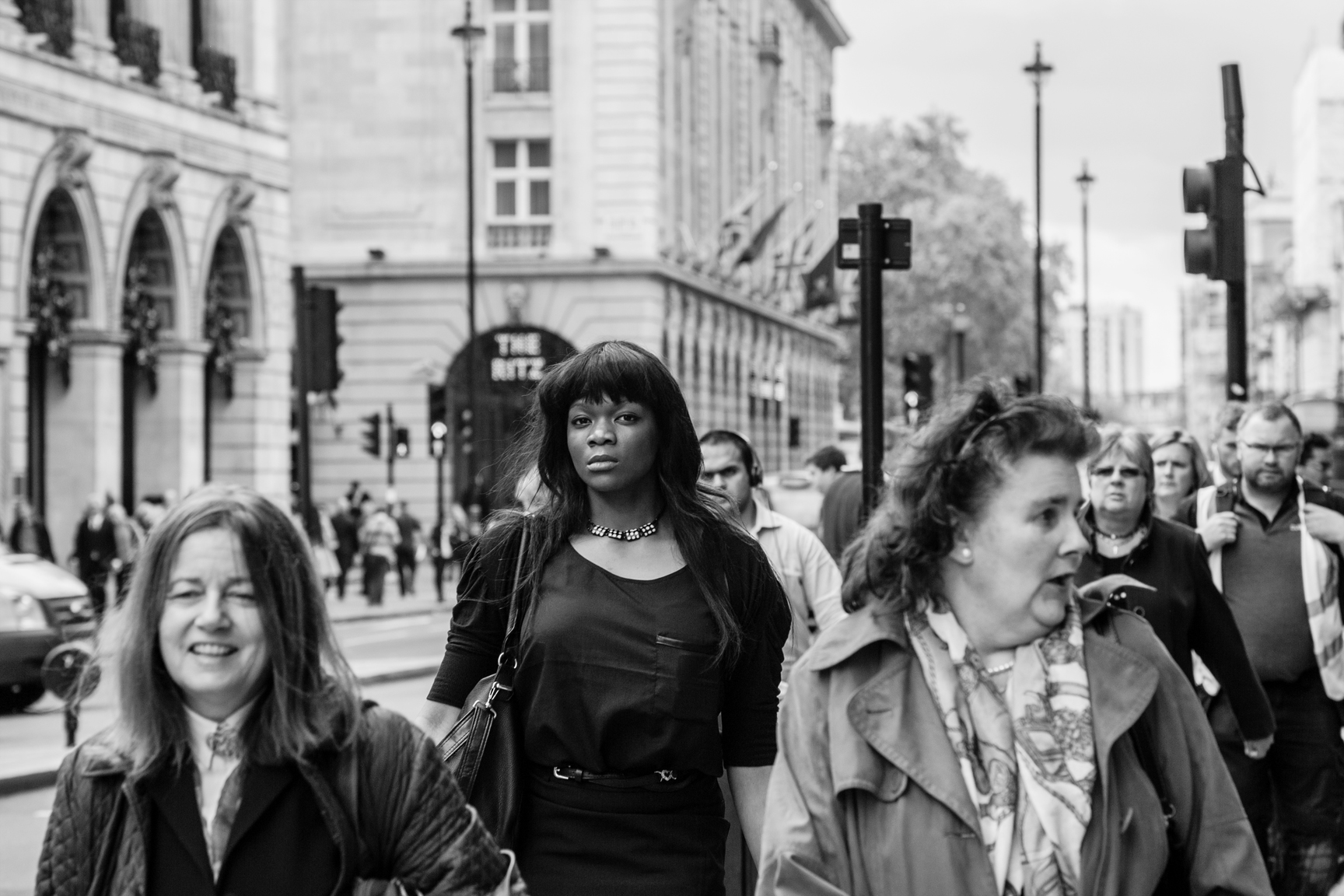 Candid street photography London