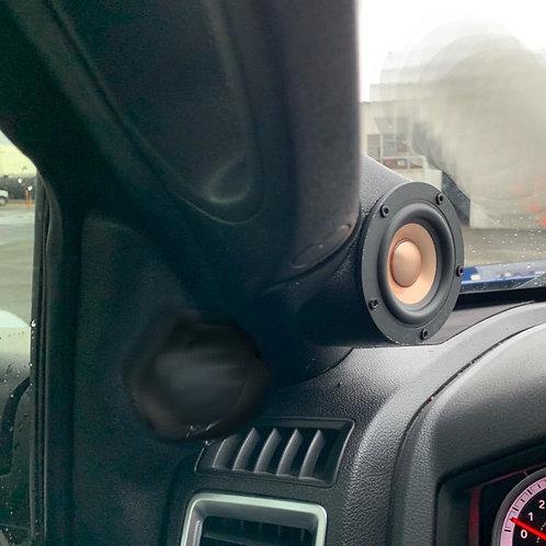 09-18 dodge ram a pillar speaker pods for 3.5