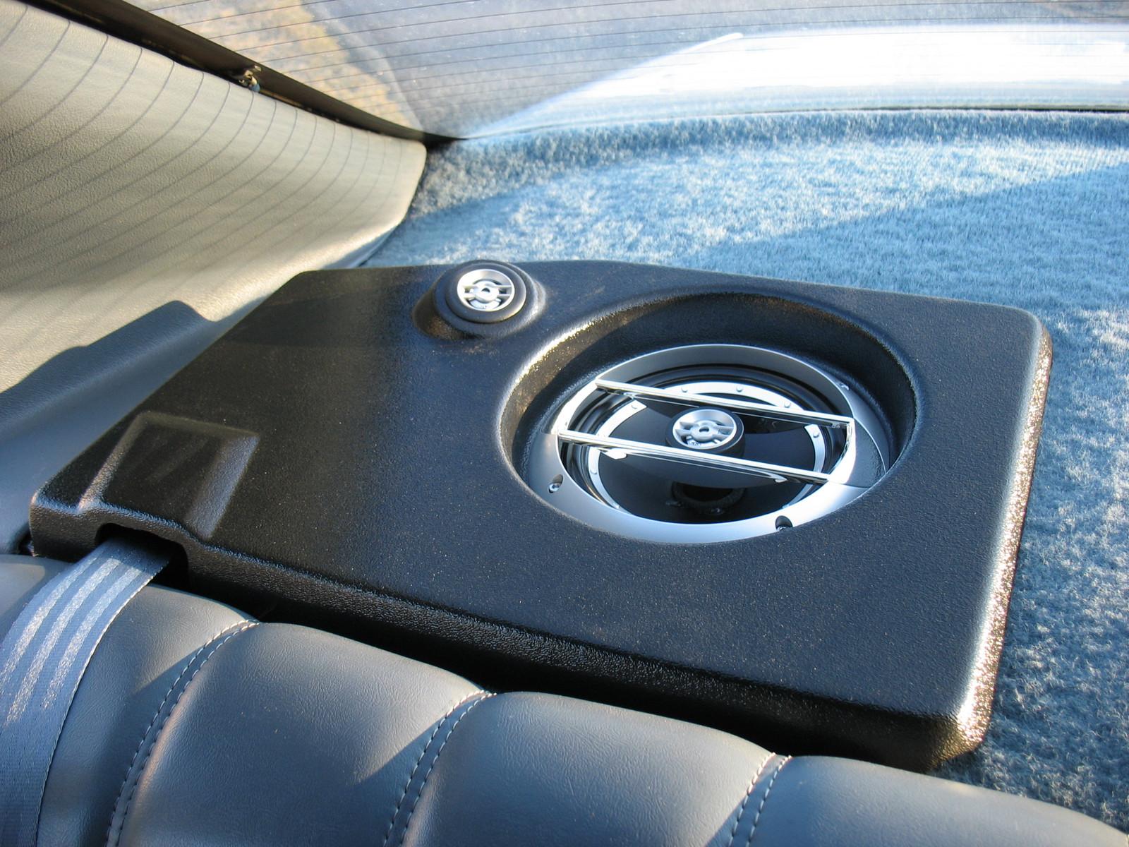 Custom Speaker Pods Car Stereo Installation 92 96 Impala Rear Deck