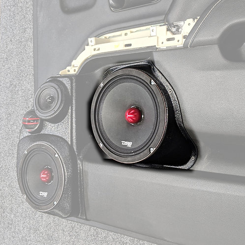 "2014-2018 silverado and sierra 8"" speaker pods for the front door stereo upgrade"