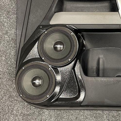 """Toyota 4 Runner Custom Speaker Pods, Dual 6.5"""""""