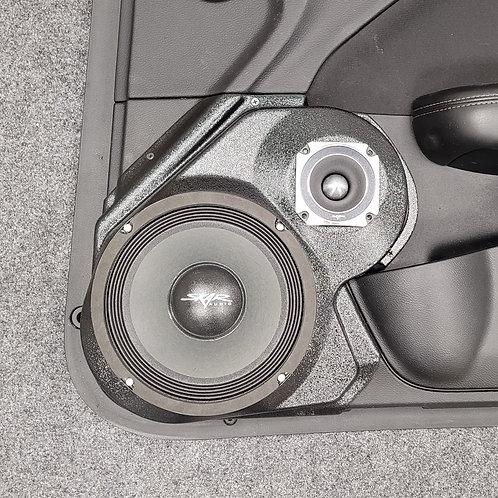"""15-20 Dodge Challenger Front Door Speaker Pod for 8"""" and 3.5"""""""