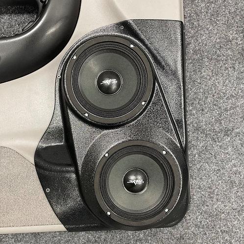 """Dual 6.5"""" Custom Speaker Pods, 1998-2012 Ford Ranger"""