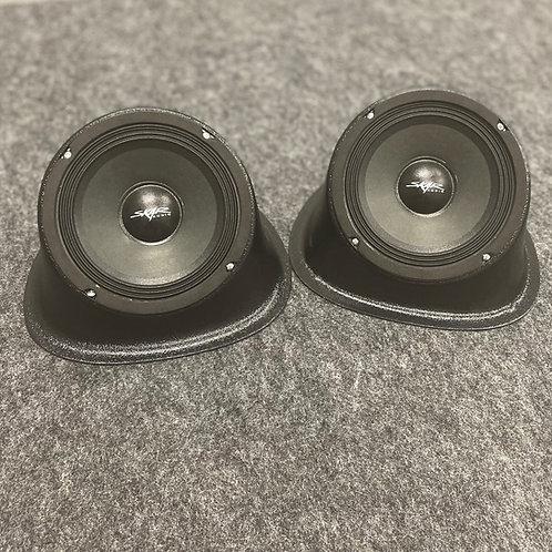 "Universal Angled Speaker Pods Single 6.5"""