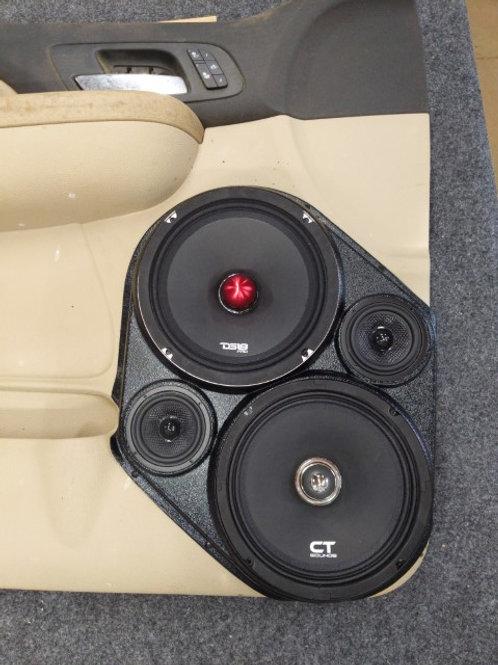 Modular Speaker pods for tahoe silverado suburban yukon stereo