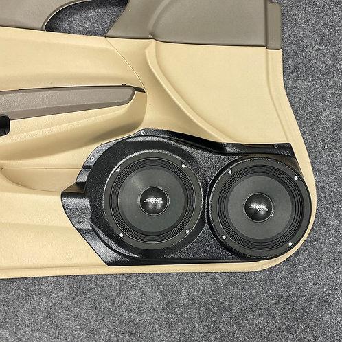 "2008-2012 Honda Accord Sedan, Dual 6.5"" Speaker Pods, Stereo Upgrade"