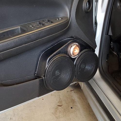 """Dual 6.5"""" Front Door Speaker Pods 06-15 Impala"""