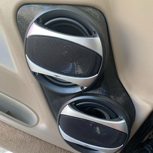 dual 6.5 speaker pods for tahoe suburban yukon silverado sierra escalade stereo upgrade