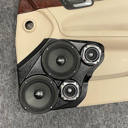 "Dual 6.5"" and 3.5"" Front Door Speaker Pods 06-15 Impala"