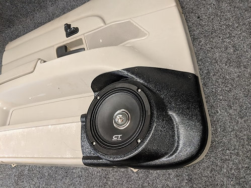 speaker pod ford crown victoria vic front door stereo installation accessory custom