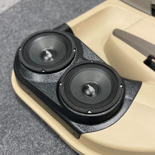 "2008-2012 Honda Accord Rear Door Speaker Pods, Audio upgrade, Dual 6.5"""