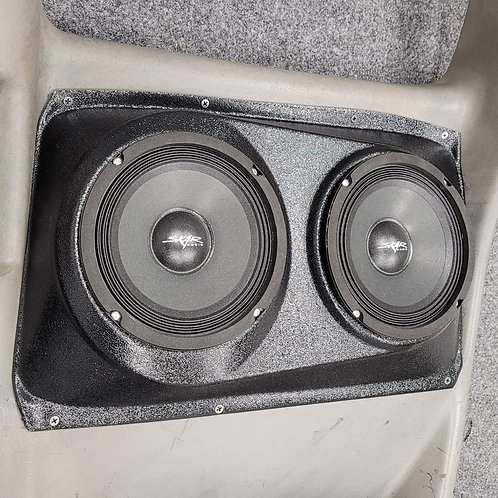 "Dual 6.5"" Extended Cab Rear Door Speaker Pods, 00-06 Silverado Sierra"