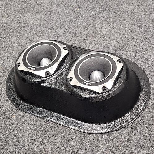 Universal Flat-Mount Speaker Pods Dual Super Tweeters MK1