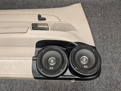 1998-2012 Crown Vic Dual speaker pods 4.