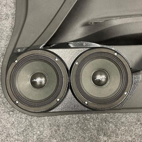 "Dual 6.5"" Honda Accord Speaker Pods, Audio Upgrade, Car Stereo"