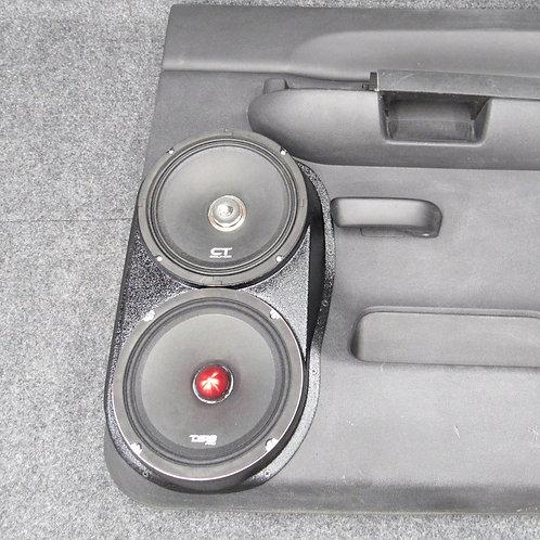 07 08 09 10 11 12 13 silverado lt sierra sle crew dual 8 speaker pods for stereo upgrade installation