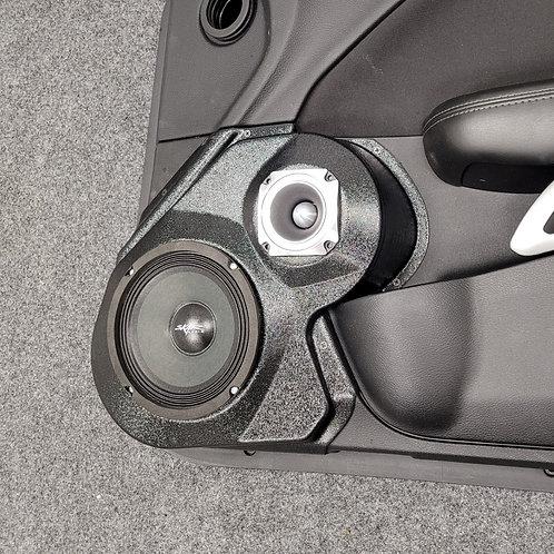 Speaker pods for dodge challenger