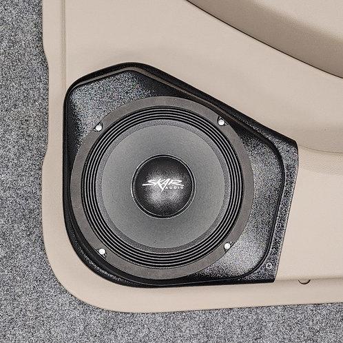 "15-20 GM SUV, Rear Door, 8"" Speaker Pods, sound system"