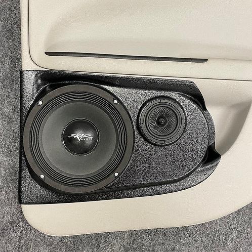 "8"" & 3.5"" Rear Door Speaker Pods 06-15 Impala"