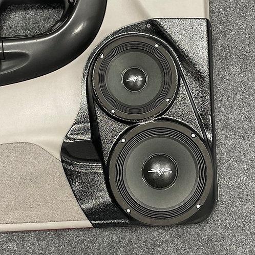 """98-12 Ranger Front Door Custom Speaker Pods for 6.5"""" & 8"""""""