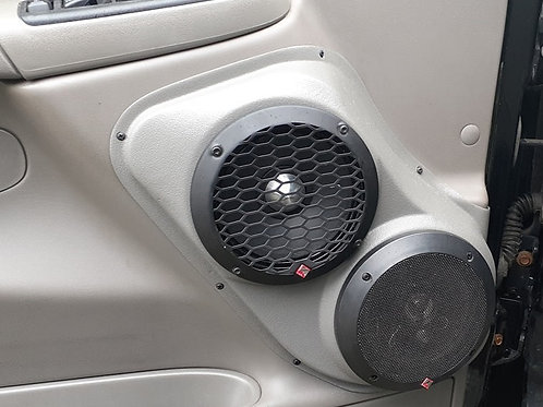 "Dual 6.5"" Speaker Pods Chevy Tahoe, Suburban, Yukon, Denali, Silverado, Sierra, Avalanche 2000 2001 2002 2003 2004 2005 2006"