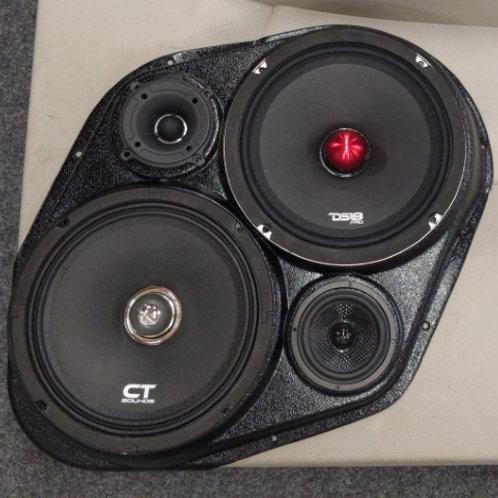 Modular Rear Door Speaker Pods 07-14 Suburban/Yukon XL