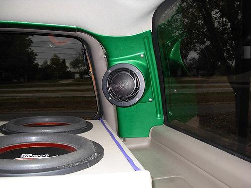 d-pillar speaker pods for chevy tahoe suburban escalade