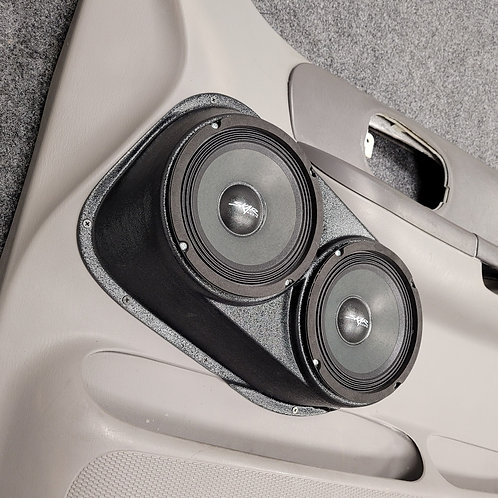 1999-2003 Ford F150 front door speaker pods for dual 6.5 stereo upgrade accessory