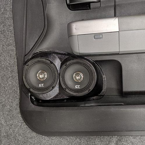Toyota Tundra stereo upgrade  speaker pod accessory