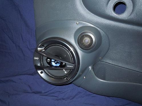 """6.5"""" Component Front Door Speaker Pods 98-04 S10"""
