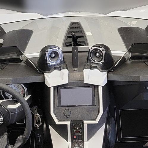 """3.5"""" Inner Dash Custom Speaker Pods, Polaris Slingshot Sound System, Custom Slingshot Audio"""