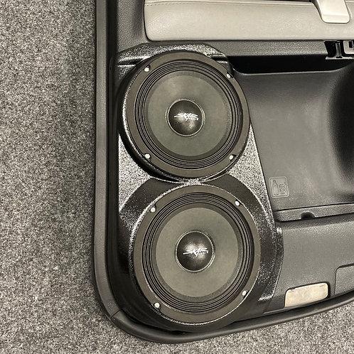 """2010-2021 Toyota 4Runner Custom Speaker Pods, Dual 6.5"""" Custom Speaker Pods"""