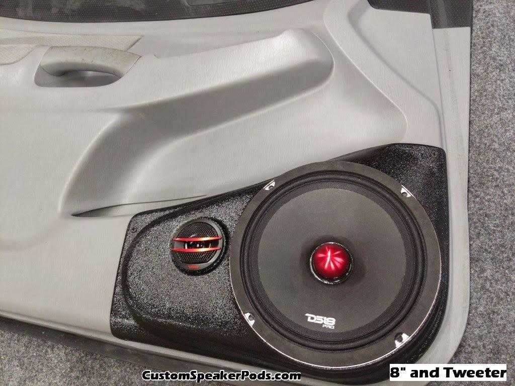 05 15 tacoma front door speaker pods. Black Bedroom Furniture Sets. Home Design Ideas