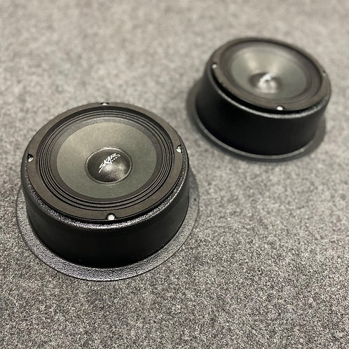 "Universal Flat Mount Speaker Pods Single 6.5"""