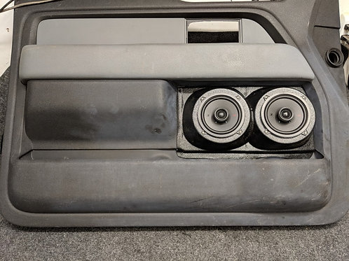speaker pods ford f150 dual 5.25 custom stereo installation accessory