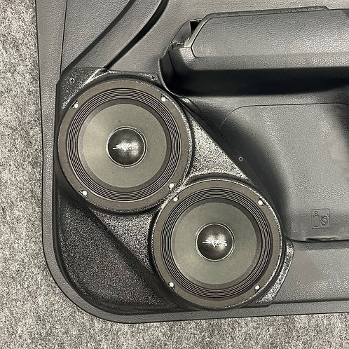"""Front Door Dual 6.5"""" Speaker Pods for 16-19 Tacoma"""